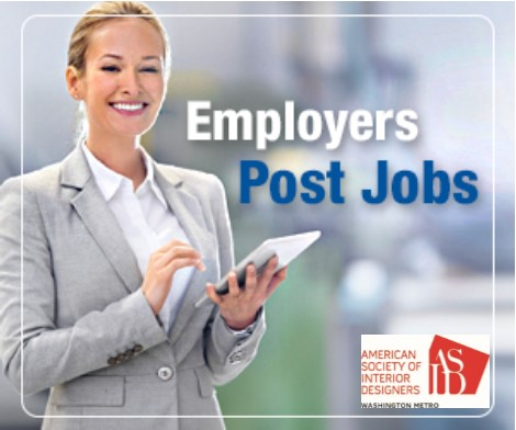Use ASID DC Metro Career Center to find the perfect employee!